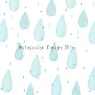 しずく雨背景素材